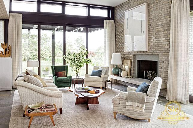 What kind of living room furniture is on trend today?